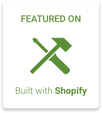 Lottie & Lysh featured on Built with Shopify link