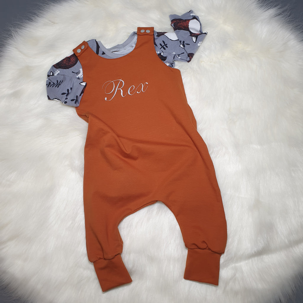 new baby personalised clothing gift