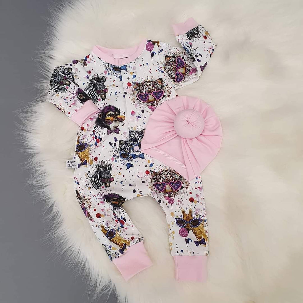 Party Mammals Child & Baby Romper