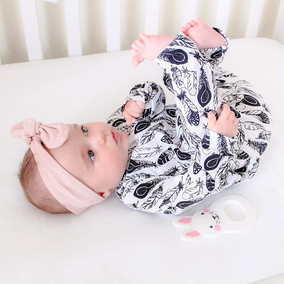Organic unisex baby clothing handmade in the Uk by Lottie & lysh