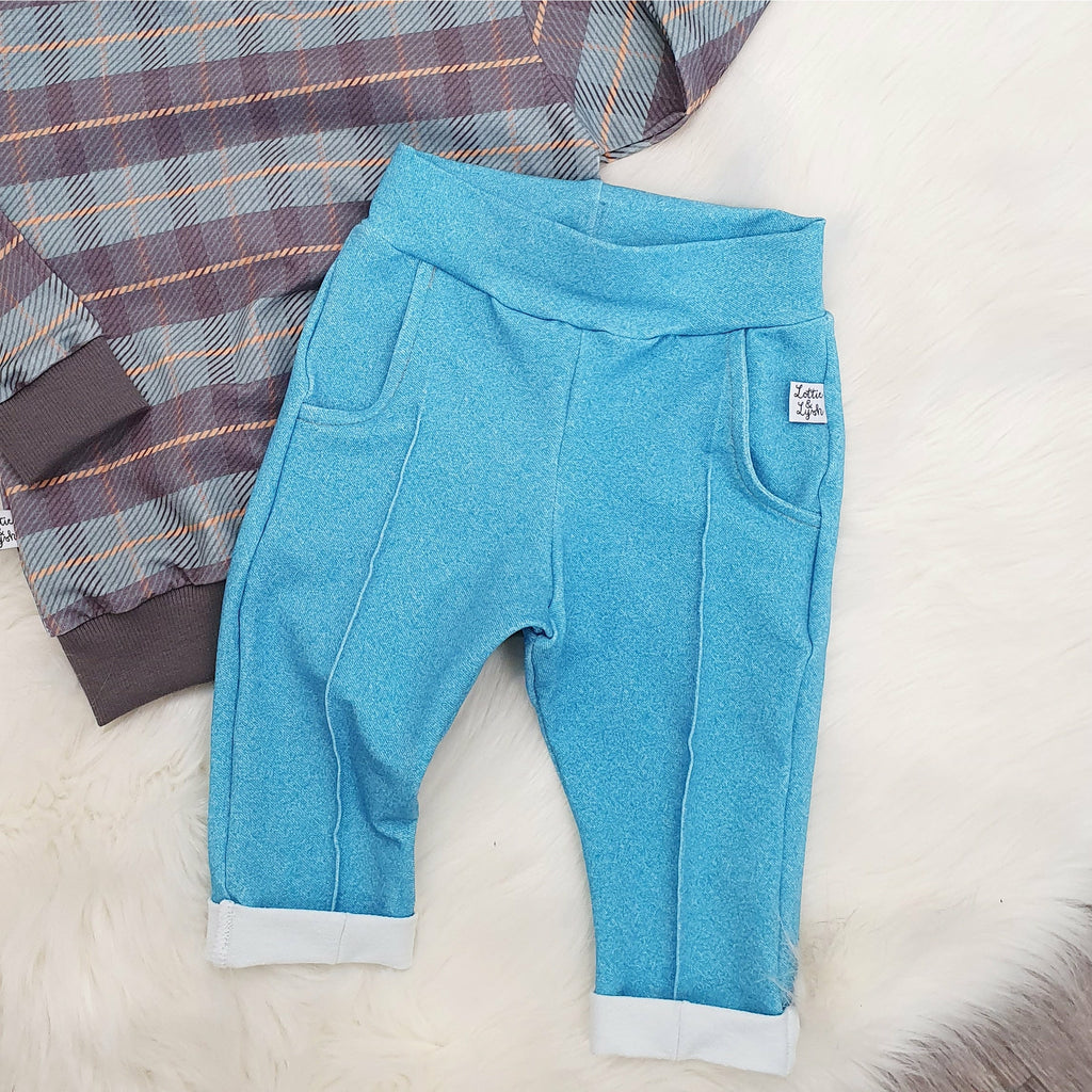 Retro style kids trousers by Lottie & Lysh