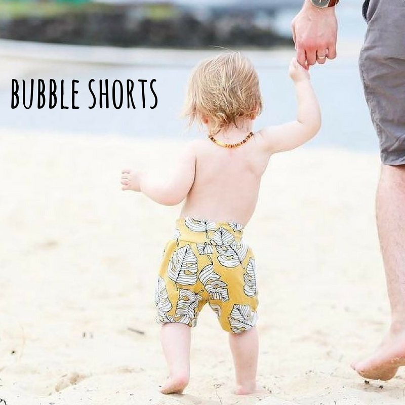 baby and toddler bubble shorts
