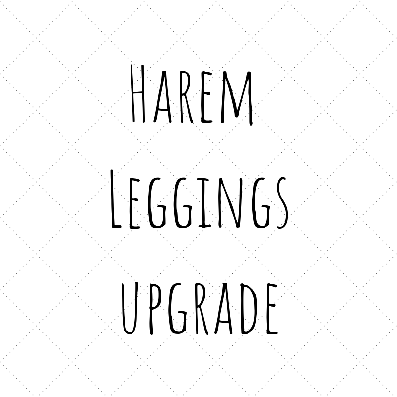 Customisation - Harem Leggings