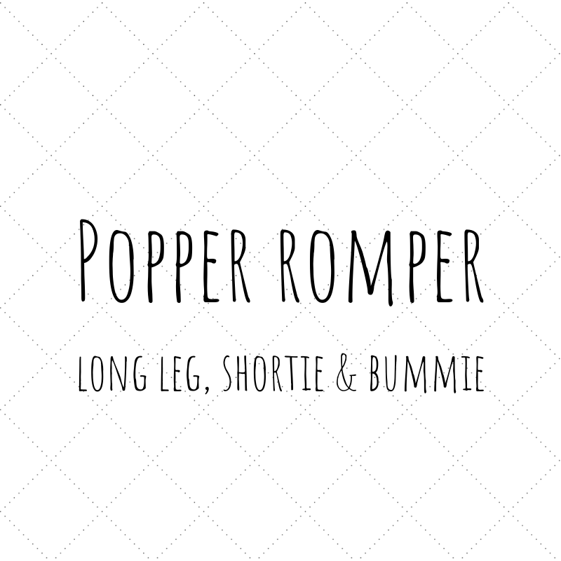 Design Your Own - Popper Romper