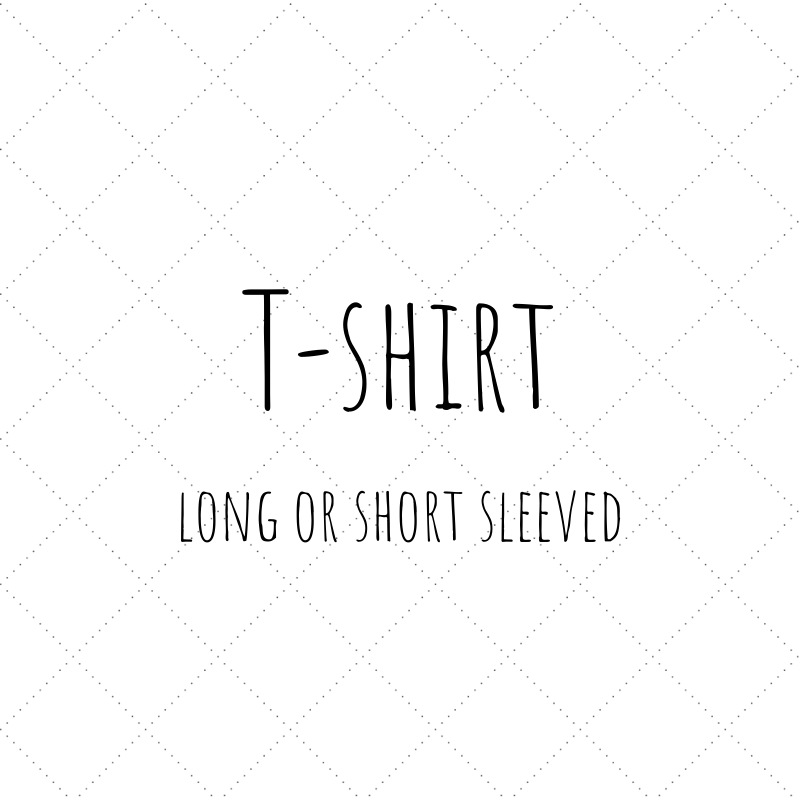 Short or Long Sleeve T-shirt