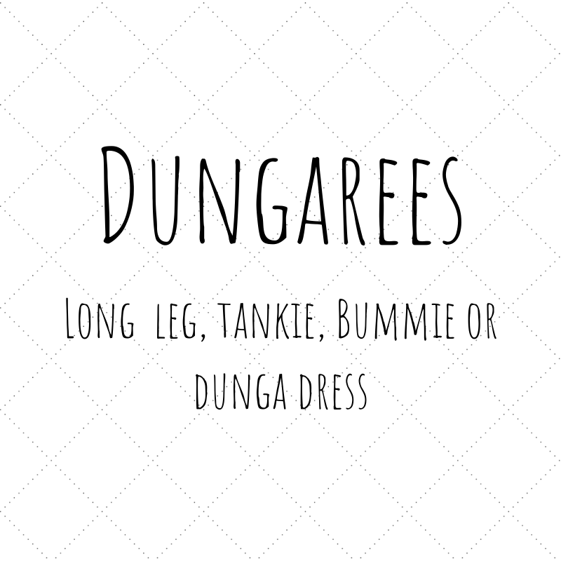 Design Your Own- Dungarees