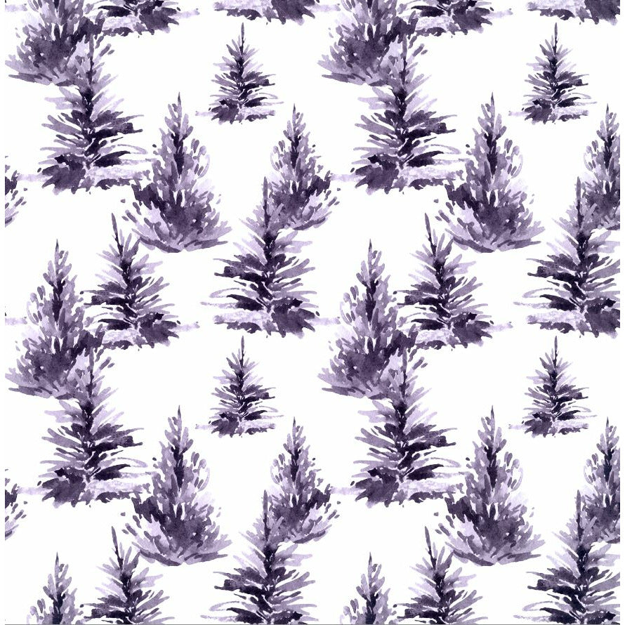 Lottie & lysh mauve trees exclusive jersey fabric