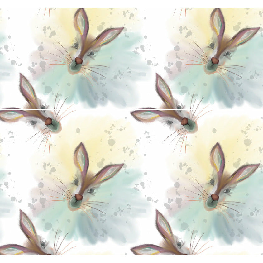 Exclusive Hare print fabric designed for Lottie & lysh organic