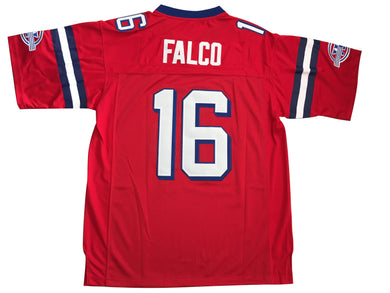 Red Shane Falco #16 The Replacements Movie FOOTBALL THROWBACK MOVIE JERSEY - ThrowbackJerseys.com