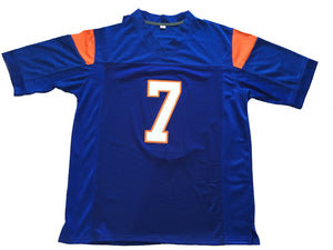 Blue Alex Moran 7 Blue Mountain State FOOTBALL THROWBACK MOVIE JERSEY - ThrowbackJerseys.com