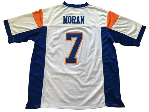 White Alex Moran 7 Blue Mountain State FOOTBALL THROWBACK MOVIE JERSEY - ThrowbackJerseys.com