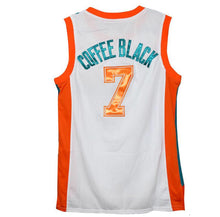 "WHITE ""COFFEE BLACK"" #7 FLINT TROPICS BASKETBALL THROWBACK MOVIE JERSEY - ThrowbackJerseys.com"
