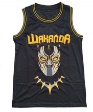 Load image into Gallery viewer, NEW BLACK PANTHER WAKANDA KILLMONGER #2 BASKETBALL THROWBACK MOVIE JERSEY