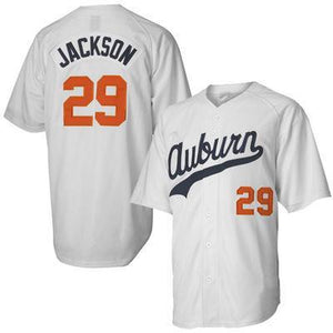 "AUBURN BO ""JACKSON"" #29 BASEBALL THROWBACK JERSEY"