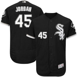 "BLACK CHICAGO ""JORDAN"" #45 BASEBALL THROWBACK JERSEY - ThrowbackJerseys.com"