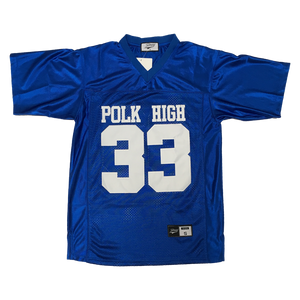 BUNDY #33 POLK HIGH SCHOOL FOOTBALL THROWBACK MOVIE JERSEY