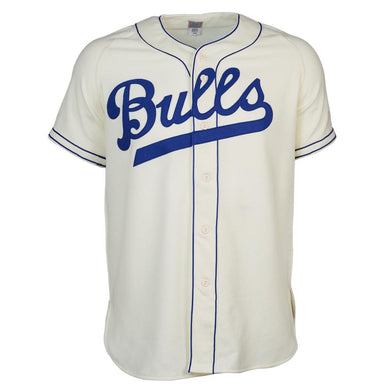 Durham Bulls 1947 Home RETRO BASEBALL THROWBACK JERSEY