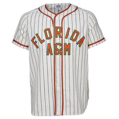 Florida A&M University 1965 Home RETRO BASEBALL THROWBACK JERSEY