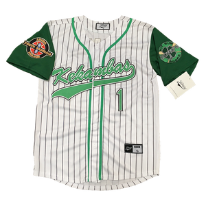 G-BABY #1 KEKAMBAS BASEBALL THROWBACK MOVIE JERSEY