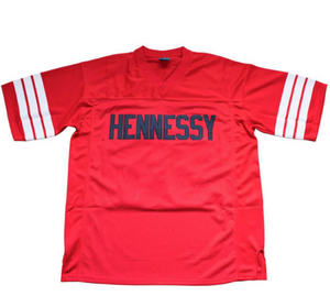 RED & BLACK HENNESSY PRODIGY MOBB DEEP #95 FOOTBALL MUSIC THROWBACK JERSEY