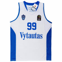 WHITE LAVAR #99 LITHUANIA VYTAUTAS BASKETBALL THROWBACK MOVIE JERSEY - ThrowbackJerseys.com