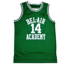 GREEN FRESH PRINCE OF BEL-AIR JERSEY WILL SMITH #14 BASKETBALL THROWBACK JERSEY - ThrowbackJerseys.com