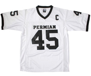 WHITE MILES #45 PERMIAN FOOTBALL THROWBACK MOVIE JERSEY