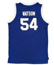 BLUE SHOOTOUT #54 WATSON BASKETBALL THROWBACK MOVIE JERSEY - ThrowbackJerseys.com