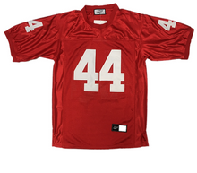 BURGUNDY #44 GUMP FOOTBALL THROWBACK MOVIE JERSEY - ThrowbackJerseys.com