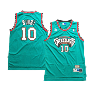 "TEAL VANCOUVER ""BIBBY"" #10 BASKETBALL THROWBACK JERSEY - ThrowbackJerseys.com"