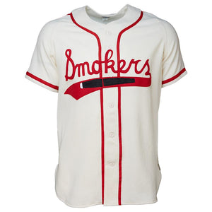 Tampa Smokers 1951 Home RETRO BASEBALL THROWBACK JERSEY