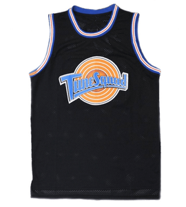 BLACK TUNE SQUAD BASKETBALL THROWBACK JERSEY