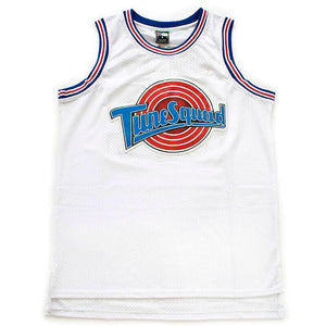 WHITE TUNE SQUAD BASKETBALL THROWBACK JERSEY