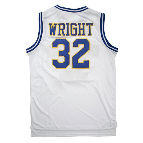 WRIGHT #32 CRENSHAW HIGH SCHOOL BASKETBALL THROWBACK MOVIE JERSEY - ThrowbackJerseys.com