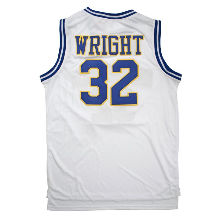 WRIGHT #32 CRENSHAW HIGH SCHOOL BASKETBALL THROWBACK MOVIE JERSEY