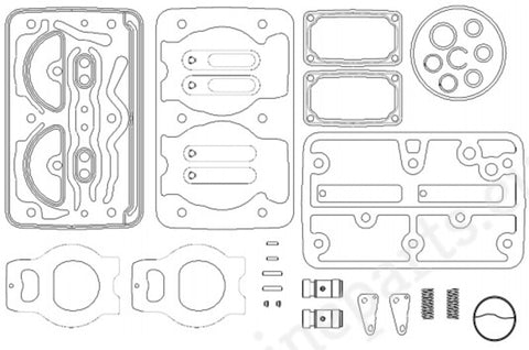 Knorr-Bremse Retrofitting Kit SEB22596 - SEB22596