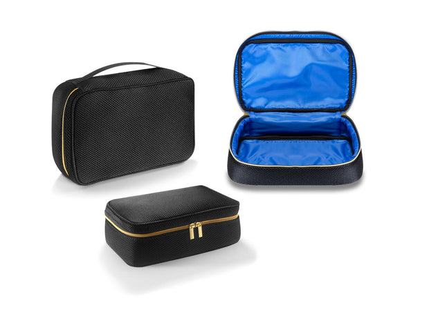 BLACK MESH TRAVEL CASE