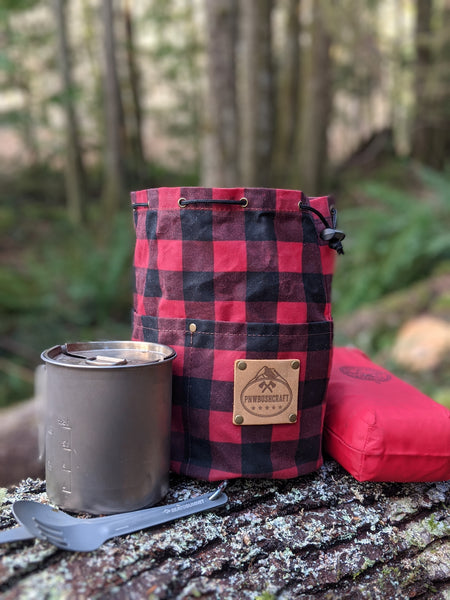 Buffalo Plaid Outdoor Bushcraft Gear by PNWBUSHCRAFT