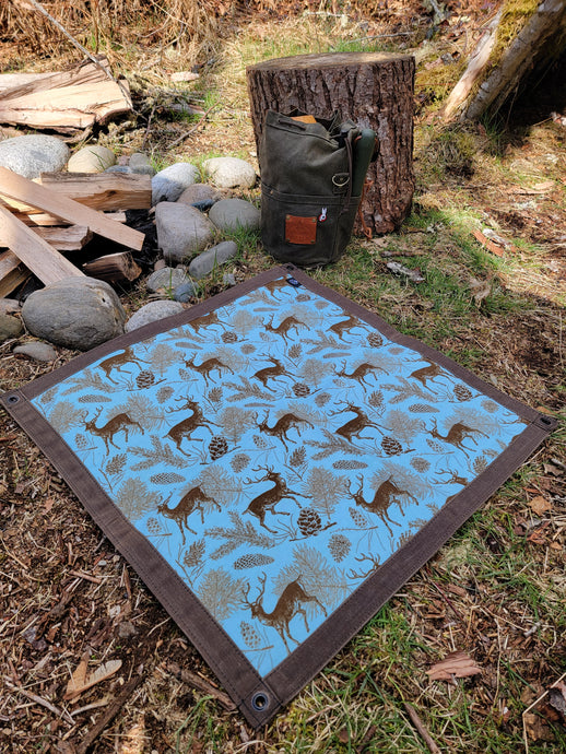 bushcraft ground cloth