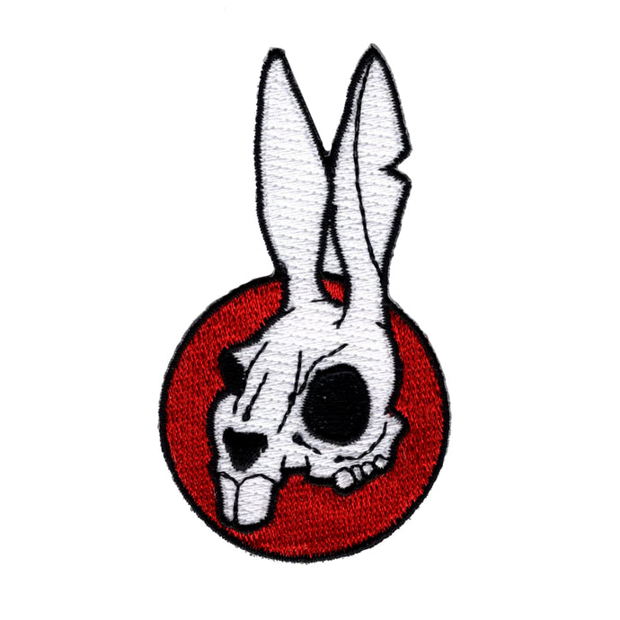 Death Bunny Patch Free Worldwide Shipping - PNW BUSHCRAFT