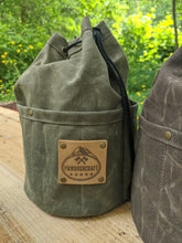 Cedar Bucket Bag with Outside Pockets