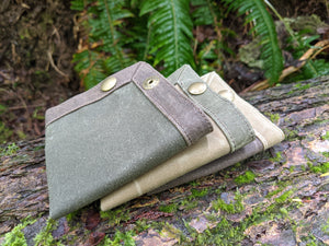 Waxed Canvas Travel Tray for your Gear or EDC