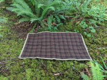 Vintage Pendleton Wool and Waxed Canvas Groundcloth