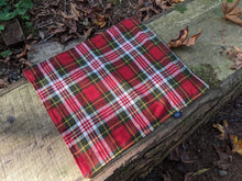 Waxed Canvas and Sturdy Flannel Pillow Bag