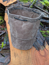 Cedar Bucket Bag with Pockets for Heavy Cover Military Style Titanium Mess Kit - PNW BUSHCRAFT