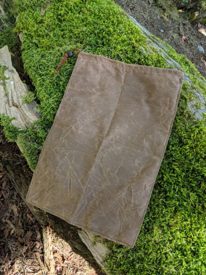Lightweight Waxed Canvas Food Sack Bag - PNW BUSHCRAFT