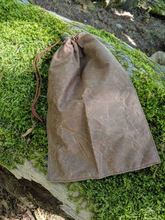 Lightweight Waxed Canvas Food Sack Bag