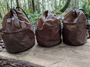 The Cedar Lite Bucket Bags with Outside Pockets