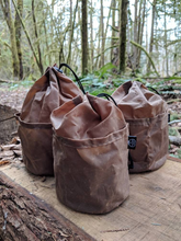 The Cedar Lite Bucket Bags with Outside Pockets - PNW BUSHCRAFT