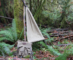 PNW Bushcraft Ground Cloth/Hammock Chair